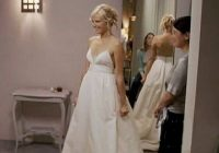 tess wedding dress in movie 27 dresses tessweddingdress 27 Dresses Tess Wedding Dress