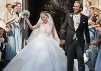 the 16 most expensive celebrity wedding dresses of all time Melania Trump Wedding Dress