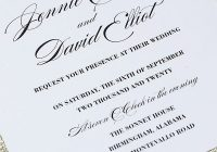 the basic rules for your wedding invitation wording Invitations Wording For Wedding