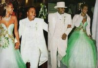 the infamous green dress that makes a cameo on nas life is Nas Album Cover Wedding Dress
