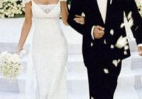 the most expensive celebrity wedding dresses business insider Jennifer Aniston Wedding Dress Brad Pitt