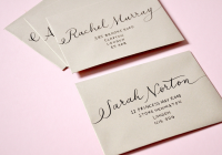 there is so much etiquette that goes into addressing your How To Address A Wedding Invitation