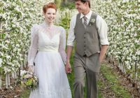 this anne of green gables themed wedding is the sweetest Anne Of Green Gables Wedding Dress