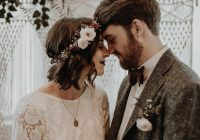 thrifted and handmade leftbank annex wedding in portland Vintage Wedding Dresses Portland