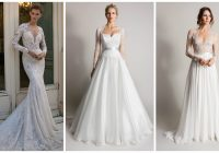 top 20 wedding dresses with the queen anne neckline Queen Anne Neckline Wedding Dress
