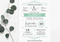 top places to find free wedding invitation templates Wedding Invitations Printables