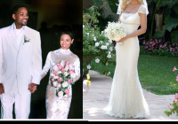 tori spelling fashion wrap up Tori Spelling Wedding Dress