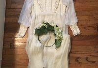 true vintage gunny sack wedding dress 70s wedding dress Gunny Sack Wedding Dress