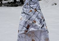 truetimber snow camo wedding hi low hem dress Snow Camo Wedding Dress