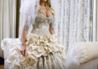 ugliest wedding dresses ever you dont want to dress like Ugliest Wedding Dresses