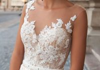 Unique 61 most beautiful lace wedding dresses to see cute Cute Lace Bodice Wedding Dresses