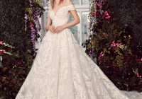 Unique off the shoulder lace ball gown wedding dress with corset bodice Nice Rivini Wedding Dresses Gallery