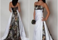 us 1271 18 offnew arrival strapless camo wedding dress with pleats empire waist a line sweep train realtree camouflage 2021 betra bridal gowns in Realtree Camouflage Wedding Dresses
