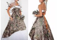 us 1480 20 off2020 camo wedding dresses satin country cowgirls bridal dresses sweep train plus size camouflage wedding dresses corset lace up in Camo Wedding Dresses Pictures