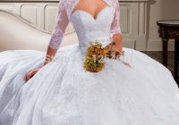 us 2180 free lace bolero jacket 2020 new sweetheart lace ball gown wedding dresses tulle applique beaded sash bridal gown lt31 in wedding dresses Shrugs For Wedding Dresses