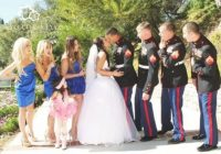 us marines dress blues wedding marine corps Army Dress Blues Wedding