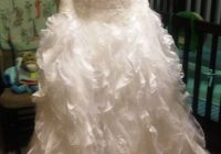 used monique luo 1204 0086 wedding dress size 6 750 Monique Luo Wedding Dresses
