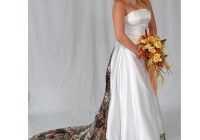 vintage plus size camo wedding dresses bridal gowns strapless lace up back sweep train a line custom made satin wedding dress brautkleider sold Pictures Of Camo Wedding Dresses