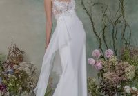 watercolour florals lace elizabeth fillmore 2015 bridal Elizabeth Fillmore Wedding Dresses