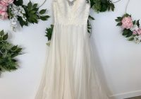 watters watters bridal ivory lace and organza kai destination wedding dress size 6 s 68 off retail Watters Wedding Dress s