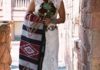 we made our 10k 120 guest modern navajo wedding our own Navajo Wedding Dress