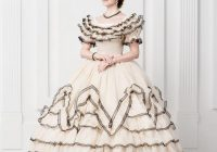 wedding dress scarlett ohara style 19th century Scarlett O Hara Wedding Dress