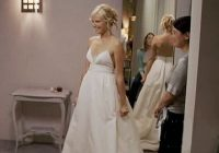 wedding dress wednesday wedding dresses in movies prost Katherine Heigl 27 Dresses Wedding Dress