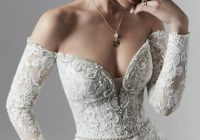 wedding dresses and gowns with sleeves maggie sottero Terry Prettya Wedding Dress