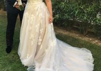 wedding gown mia solano a line size 10 Mia Solano Wedding Dresses