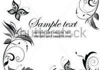 wedding invitation border wedding invitations borders Wedding Invitation Decorations