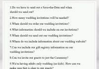 wedding invitation etiquette you can not miss elegant What Should Be On A Wedding Invitation