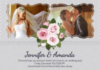 wedding invitation ideas personalized wedding invitations Personalized Wedding Invitations With Pictures