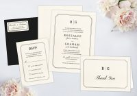 wedding invitation packages wedding paperie Wedding Invitation And Rsvp Packages
