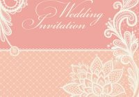 wedding invitations with vintage lace background Lace Design Wedding Invitations