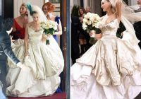 wedding online style 10 carrie bradshaw outfits to Carrie Bradshaw Wedding Dress