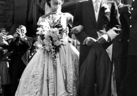 what happened to jackie kennedys dress just one week before Jacqueline Kennedy Wedding Dress