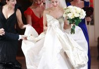 what to do if you freak out like carrie bradshaw when you Carrie Bradshaw Wedding Dresses