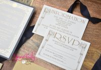 what to include in your wedding invitation suite enclosure What To Include In Wedding Invitation