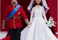 william and kate wedding dolls show off mini dress bbc news Princes Kate Wedding Dress