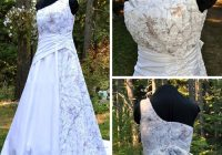 you had me at camo choosing a camo wedding dress Snow Camo Wedding Dress