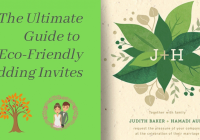 your guide to eco friendly wedding invitations hankybook Environmentally Friendly Wedding Invitations