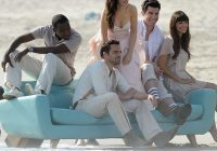 zooey deschanel dons a wedding gown for a photo shoot with Zooey Deschanel Wedding Dress